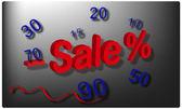 Season's sale — Vector de stock