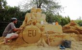 Sand Sculpture Festival — Stock Photo