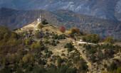 Beautiful church on a hill in Bulgaria — Stock Photo