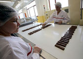New Nestle production line — Stock Photo