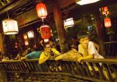 Chengdu Jinli Ancient Street — Stock Photo