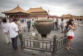Yasak şehir içinde beijing, çin — Stok fotoğraf