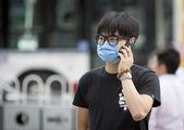 Young man wearing mask — Stock Photo