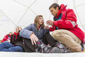 Bulgarian Red Cross Youth (BRCY) voluntary organization — Stock Photo
