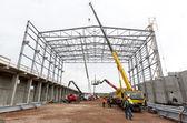 Waste plant construction site — Fotografia Stock