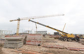 Waste plant construction site — Stock Photo