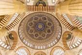 Selimiye Mosque dome interior — Stock Photo