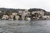 Bosphorus houses buildings — Stock Photo
