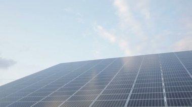 Solar Panels Renewable Energy — Stock Video