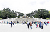 Neptune Fountain Schonbrunn Palace — Stock Photo