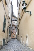 Vienna small street Autria — Stock Photo