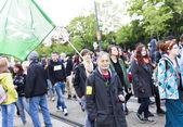 Global Cannabis March Vienna — Foto de Stock