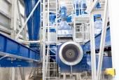 Waste plant inside process storage methane oil organic — Stock Photo