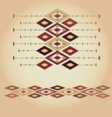 Macedonian folklore background — Vector de stock