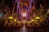 Intérieur de la cathédrale de Santa Maria la Palma (La Seu) à Palma — Photo