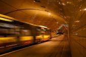 Tunnel in Warsaw — Stock Photo