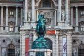 Monument of the Prinz Eugen, Vienna — Stock Photo