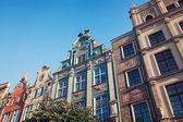 Oude stad in gdansk — Stockfoto