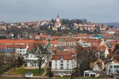 View of the city of Meissen — Foto Stock
