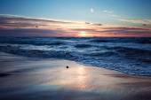 Gün batımı ve deniz — Stok fotoğraf