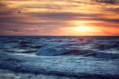 Sunset and sea — Stock Photo
