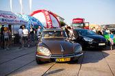 Exhibition of cars — Stockfoto