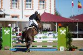 Annual show jumping tournament CSI 4 in Chernyahovsk — Stock Photo