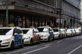 Taxi in Berlin — Stock Photo