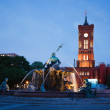 Neptune Fountain in Berlin — Stock Photo #63584171