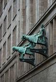 Cephe heykel — Stok fotoğraf