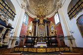 Innenraum der Kirche der Heiligen Peter und Paul — Stockfoto