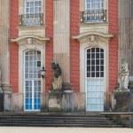 Details facade of New Palace Sanssouci — Stock Photo #64073177