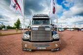 Truck Show in Mikolajki — Stock Photo