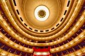 Balconies of Vienna Opera House — Stock Photo