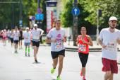 A marathon in Budapest — Стоковое фото