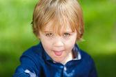 Little cute boy — Stock Photo