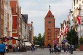 Old town in Elblag — Stock Photo