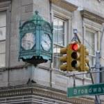 Broadway Clock — Stock Photo #58801269