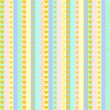 Pastel stripes with various patterns — Stock Vector #61624397