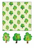 "Pattern ""Trees"" — Stock Vector"