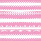 Lace — Stock Vector