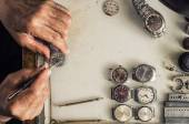 Repair of mechanical watches — Stock Photo