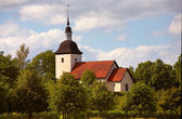 Tveta church — Stock Photo
