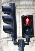 Stop for pedestrians — Stock Photo
