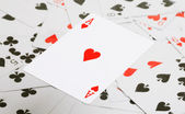 Ace of hearts — Stock Photo