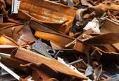 Eusty scrap metal — Stock Photo
