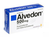 Alvedon — Stock Photo