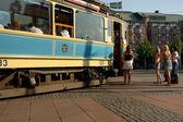 Old tram — Foto de Stock