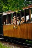 Railway trip — Stock Photo
