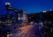 Slussen, Stockholm — Stock Photo